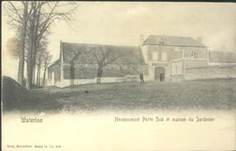 Waterloo : Hougoumont Porte Sud Et Maison Du Jardinier Nels 11 N°650 - Waterloo