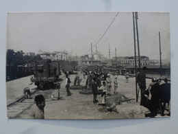 TURQUIE Gare De SIKIDJI Carte-photo En état Concours - Départ Pour Le Défilé Du 14 Juillet (502/506èmes RCC) DEN1165 - Turquie
