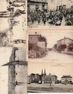 Lot De 500 CPA-CPSM  Petits Formats  - Drouille Et Petites Cartes (lot En Vrac 1) - Cartes Postales