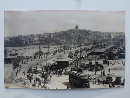 TURQUIE - CONSTANTINOPLE  Carte-photo En état Concours - Départ Pour Le Défilé Du 14 Juillet (502/506èmes RCC)  DEN1167 - Turquie