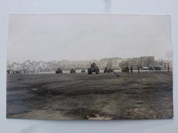 TURQUIE - CONSTANTINOPLE  Carte-photo En état Concours - Défilé Du 14 Juillet Place Taxim (502/506èmes RCC)  DEN1170 - Turquie