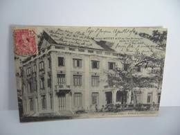 VIET NAM HOTEL MOTTET ET CIE AU CAP ST JACQUES APRES LE TYPHON DU 1 MAI 1904 CPA 1905 Mottet éditeurs Saigon - Vietnam