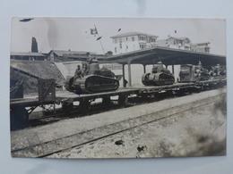 TURQUIE Gare De MAKRI-KEUY  Carte-photo En état Concours - Retour Du Défilé Du 14 Juillet (502/506èmes RCC)  DEN1171 - Turquie