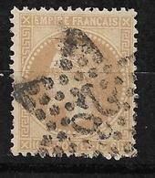 France   N°28B    Oblitéré  B/ TB  étoile De Paris   26       ... Soldé à Moins De 10  % ! ! ! - 1863-1870 Napoleon III With Laurels
