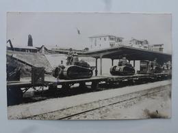 TURQUIE Gare De MAKRI-KEUY  Carte-photo En état Concours - Retour Du Défilé Du 14 Juillet (502/506èmes RCC)  DEN1172 - Turquie