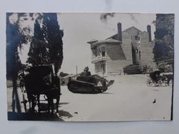 TURQUIE - MAKRI-KEUY  Carte-photo En état Concours - Retour Du Défilé Du 14 Juillet (502/506èmes RCC)  DEN1173 - Turquie