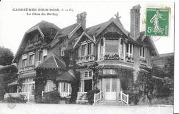 CARRIERES SOUS BOIS   LE CLOS DU BELLOY   GROS PLAN    DEPT 78 - Autres Communes