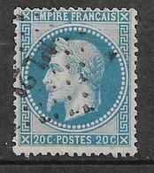 France   N°29A      Oblitéré  B/ TB  Ambulant  ML 2    Marseille à Lyon   ... Soldé à Moins De 10  % ! ! ! - 1863-1870 Napoleon III Gelauwerd