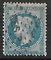 France   N°29B      Oblitéré  B/ TB   Ambulant BESP  Besançon A Paris ... Soldé à Moins De 10  % ! ! ! - 1863-1870 Napoléon III. Laure