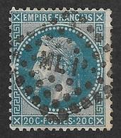 France   N°29B      Oblitéré  B/ TB   Ambulant ML 1  Marseille à Lyon   ... Soldé à Moins De 10  % ! ! ! - 1863-1870 Napoleon III With Laurels