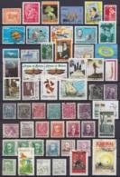 Amérique Du Latine - Lot + De 520 Timbres Oblit. - Voir Scans (Argentine, Brésil, Bolivie, Chili, Equateur, Rép. Dominic - Timbres