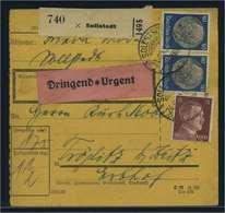 Paketkarte 1942 SOLLSTEDT Siehe Beschreibung (115142) - Deutschland
