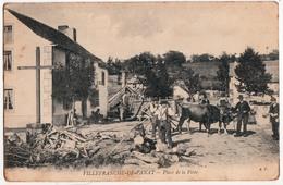 VILLEFRANCHE DE PANAT-PLACE DE LA POSTE - Autres Communes