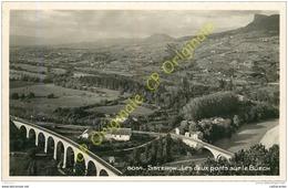 04. SISTERON . Les Deux Ponts Sur Le Buech . - Sisteron