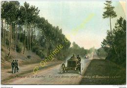 Circuit De La SARTHE .  La Ligne Droite Entre ARDENAY Et BOULOIRE . - France