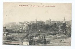 3412 Montdidier Vue Générale Prise De La Route Du Monchel 1904 Leroy Pouret Poix De Picardie  Roye Somme - Montdidier
