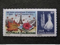Nouvelle-Calédonie: TB  N° 1263 A : Bleu Avec Faciale 110F Au Lieu De Sans Valeur, Neuf XX . - Nouvelle-Calédonie