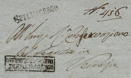 1819 -VENETO  - Lettera Da SPILIMBERGO  Per Venetia - 1. ...-1850 Prephilately