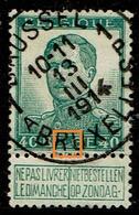 121  Obl  BXl 1A  V L Fourchu - Errors (Catalogue COB)