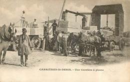 CARRIERES SAINT DENIS UNE CARRIERE A PIERRE - Carrières-sur-Seine