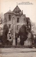 CPA VIC SUR AISNE - LE DONJON DETRUIT LORS DE L'OFFENSIVE ALLEMANDE DE 1918 - Vic Sur Aisne
