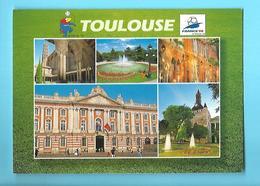 FOOTBALL--31---TOULOUSE---france 98--coupe Du Monde---voir 2 Scans - Football