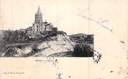 C P A 12] Aveyron > Firmi FIRMY L EGLISE ENVOYEE A BAUCHY MECANICIEN A TRILBARDOU - Firmi