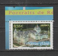 """FRANCE / 2008 / Y&T N° 4161 ** : """"France à Voir N° 11"""" (Château D'Ussé - Indre-et-Loire) X 1 - Nuevos"""