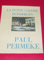 Affiche Poster - Kunst Art - Expositie Schilder Paul Permeke - La Petite Galerie Duinbergen - - Affiches