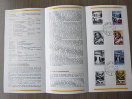 BELG.1968 1448-1451 Zegels Met Eerstedag Stempel ( Kortrijk ) Op NL Folder : Historische - 1961-70