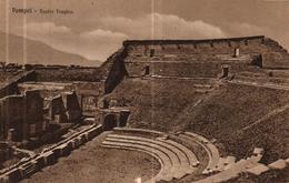 ITALIE - POMPEI TEATRO TRAGICA - Italie