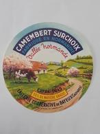 Etiquette Fromage - Camembert Surchoix De Normandie - Calvados - Bayeux -  ... Lot80 . - Cheese