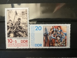 FRANCOBOLLI STAMPS GERMANIA DEUTSCHE DDR 1983 MNH** NUOVI SERIE COMPLETA COMPLETE JUNIOR STAMP SOZPHILEX GERMANY - [6] Repubblica Democratica