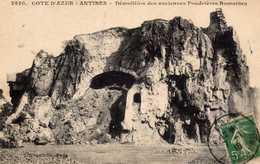 Démolition Des Anciennes Poudrières Romaines. - Antibes