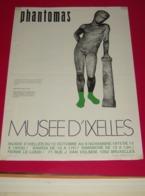 Affiche Poster - Kunst Art - Exposition Phantomas - Musée D' Ixelles - 1975 - Affiches