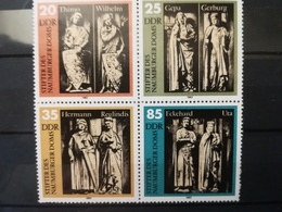 FRANCOBOLLI STAMPS GERMANIA DEUTSCHE DDR 1983 MNH** NUOVI SERIE COMPLETA COMPLETE BLOCCO NAUMBURGER GERMANY - [6] Repubblica Democratica
