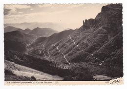 38 Le Saisissant Panorama Du Col Du Rousset N°449 éditions D'Art ROBY Le Bourg D'Oisans VOIR DOS En 1954 - Bourg-d'Oisans