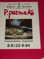 Affiche Poster - Kunst Art Exposition Schilder Paul Permeke - Galerie St Hermes - Ronse 1984 - Affiches