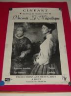 Affiche Poster - Cineart - Visconti Le Magnifique - Beaux Art à Metz - 1993 - Affiches
