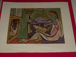 Affiche Poster - Kunst Art - Pablo Picasso - La Muse - Affiches