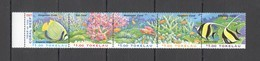H003 1997 TOKELAU FISH & MARINE LIFE CORAL REEFS 1SET MNH - Vie Marine