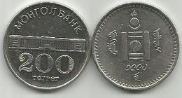 Mongolia 200 Togrog 1994. KM#125 - Mongolia