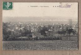 CPA 91 - VIGNEUX - Vue Générale - TB PLAN D'ensemble Du Village - Détails Maisons - Vigneux Sur Seine