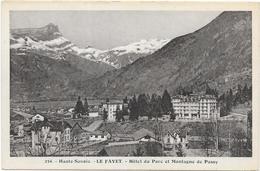 LE FAYET : HOTEL DU PARC - Sonstige Gemeinden