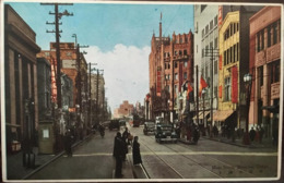 Cp, Main Street, Shinjuku, Tokyo, écrite, éd Taisho, Animée,postcard With Animation, JAPON - Tokyo