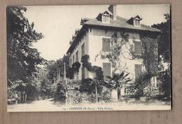 CPA 64 - LEMBEYE - Villa Doléris - TB PLAN EDIFICE Pavillon Maison + Jolie Oblitération Verso - Lembeye