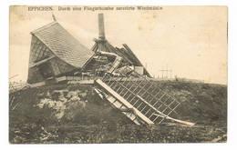 EPPEGEM Dur Eine Fliegerbombe Zerstorte Windmuhle  Moulin Molen - Zemst