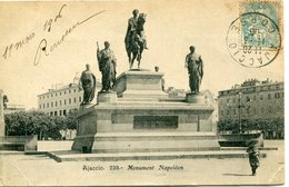 2A-CORSE  -  AJACCIO  -    Monument  Napoleon         Collection Cardinali - Ajaccio