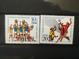 FRANCOBOLLI STAMPS GERMANIA DEUTSCHE DDR 1983 MNH** NUOVI SERIE COMPLETA COMPLETE FESTIVAL SPORT GERMANY - [6] Repubblica Democratica