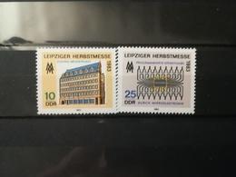 FRANCOBOLLI STAMPS GERMANIA DEUTSCHE DDR 1983 MNH** NUOVI SERIE COMPLETA COMPLETE LEIPZIG AUTUMN FAIR GERMANY - [6] Repubblica Democratica